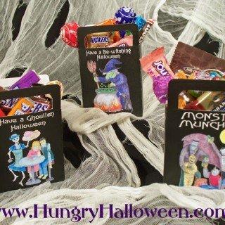 Halloween Craft – Hungry Halloween Bags