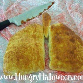 Halloween Recipe – Lung Calzones (Madeira Mushroom Filled Pastries)
