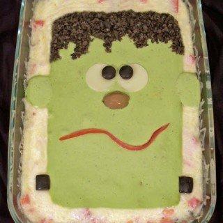 Frankenstein Taco Dip