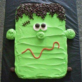 Frankenstein Cookie Halloween Dessert