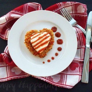 Valentine's Day Recipe – Chicken Parmesan Hearts
