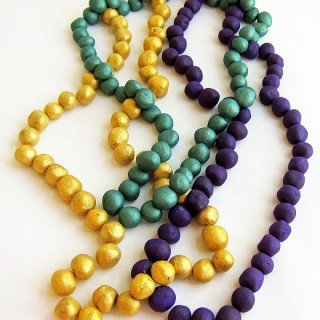 Mardi Gras – Chocolate Truffle Beads