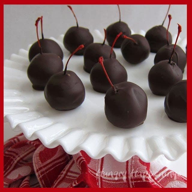My Sweet Chocolate Cherry Bombs Are Coated In Tempered Pure And They Delicious If You Arent Comfortable Tempering Can Simply