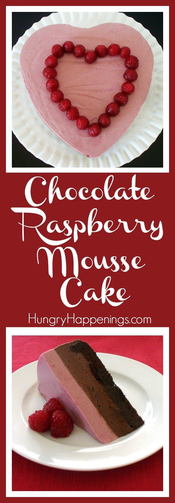 For everybody who wants to put a little extra effort in this holiday, whip up this Chocolate Raspberry Mousse Cake and let your lover gracefully fall into a fluffy sugar coma.