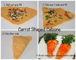 Calzone Carrots