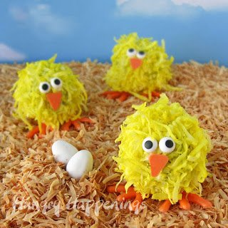 Cute Cake Ball Chick make sweet Easter treats.