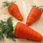Crescent Roll Carrots filled with egg salad or ham salad make a festive addition to any Easter brunch or breakfast.