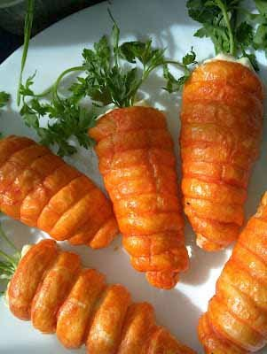 Crescent Roll Carrots 16