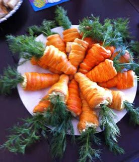 Crescent Roll Carrots 12