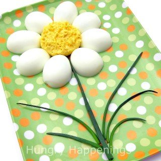 Deviled Egg Daisies