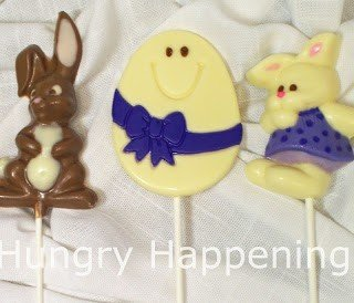 Hand Painted Chocolate Easter Pops
