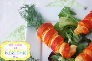 Crescent Roll Carrots 8