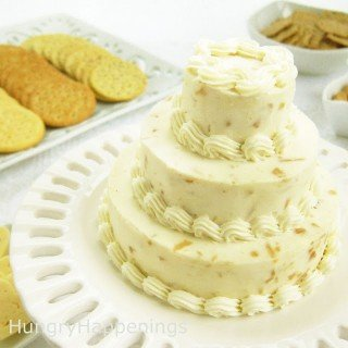 Cheese Ball Wedding Cakes – Elegant Appetizer