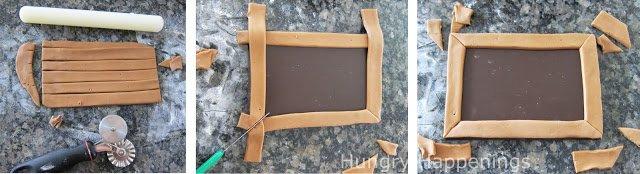 modeling chocolate chalkboard