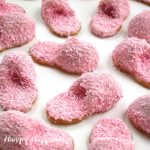 Nutter Butter Pink Fuzzy Slipper Cookies featured image