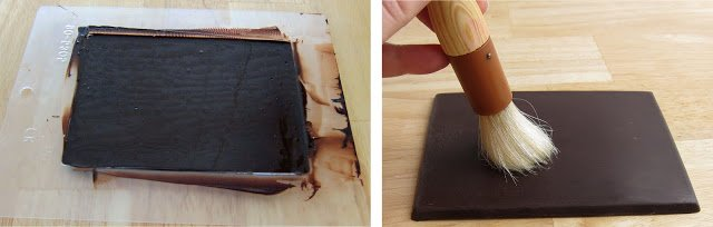 how to make edible chalkboard