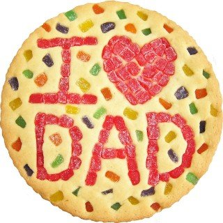 Father's Day Gum Drop Cookies