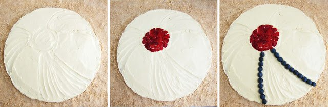 how to decorate fruit pizza
