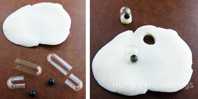 making edible googly eyes