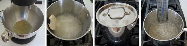 Homemade marshmallow recipe.
