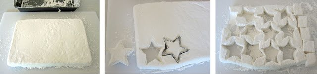 Homemade marshmallow stars can be dipped in chocolate and rolled in graham crackers to make Starfish S'mores.