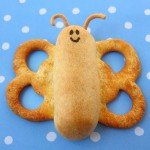 Wrap hot dogs in crescent rolls and add some wings to create these cute butterflies for your kid's lunch today.