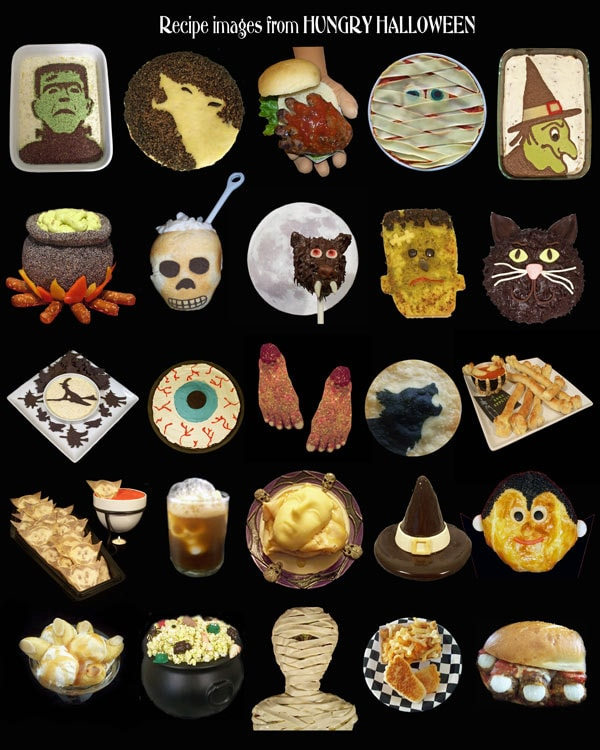 Hungry Halloween featuring Movie Monster Munchies, Bewitched Buffet, and Dead Man's Diner.
