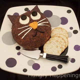Black Cat Cheese Ball