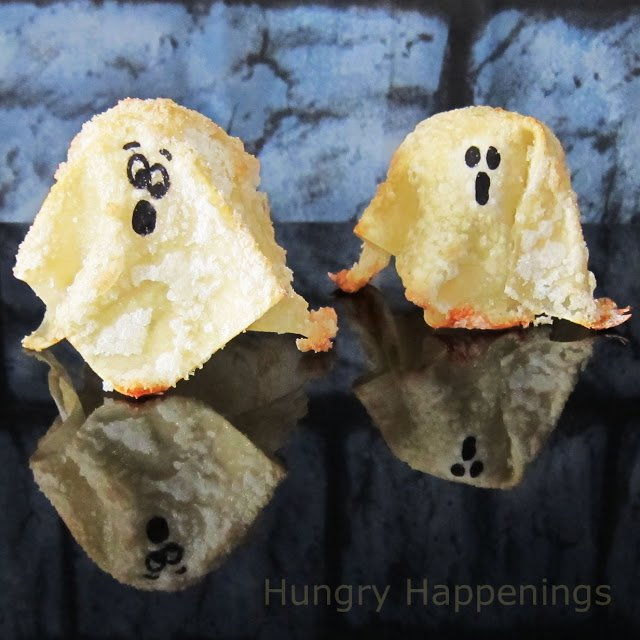Quick and quirky sweet treat for halloween sweet ghost for Quick and easy halloween treats to make
