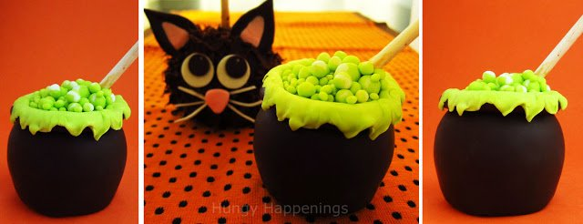 Cook up a spooky Chocolate Caramel Apple Cauldron for your Halloween party! These mini cauldrons will be the center of attention, just make sure not to cook up any wicked spells!