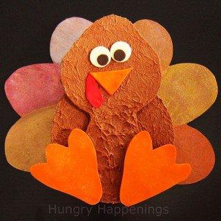 A sweet Thanksgiving gift – a Chocolate Turkey Box