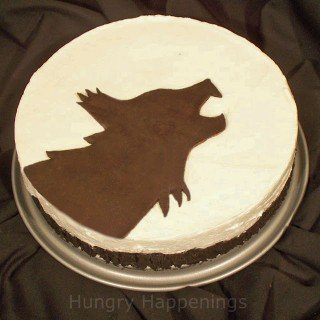 Team Jacob Inspired Cheesecake