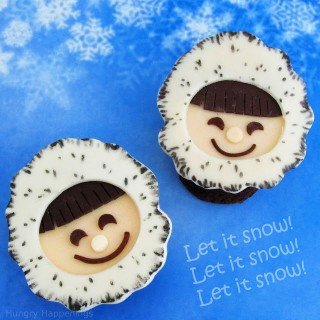 Twelve days of sweet designs, day 3 – Cute Inuit Children