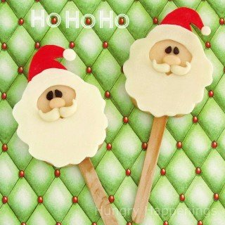 Twelve days of sweet designs, day 5 – Santa Claus Cookie Pops