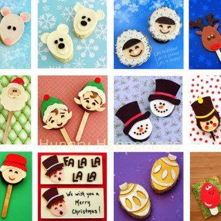 Modeling Chocolate Christmas Toppers for Cookies, Candies, and More