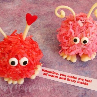 Warm Fuzzy Cake Balls and Cupcakes- Valentine's Day Recipes