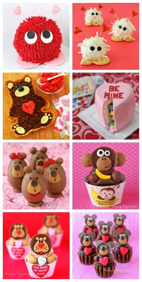 Tell your loved ones how sweet they are by making them some cute Valentine's Day food.