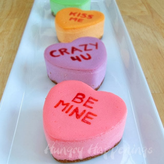 cheesecake conversation hearts recipe