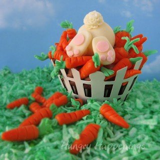Ravenous Rabbit Cupcakes are sure to delight this Easter.