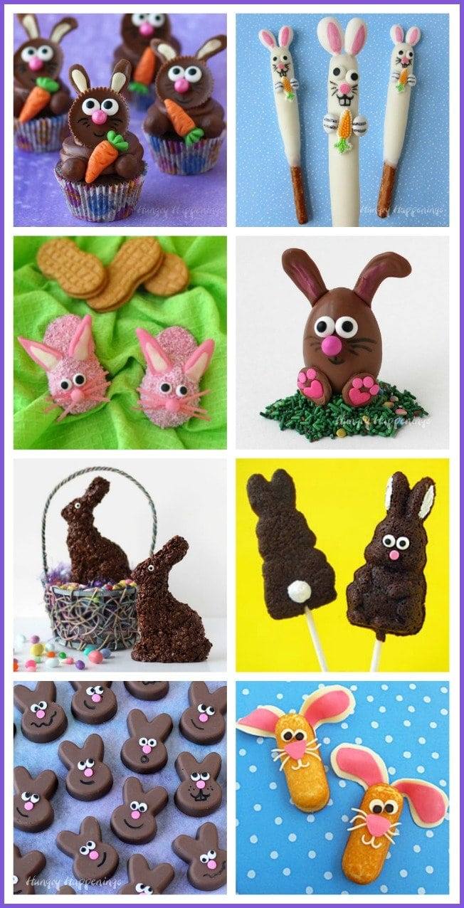 Cute Easter Bunny Treats are just as much fun to make as they are to eat.