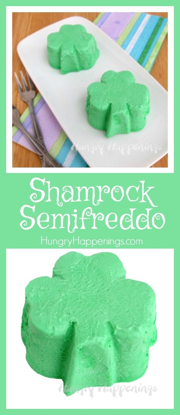 Get festive and make one or more of these delicious Recipes To Celebrate St. Patrick's Day! Along with those delicious recipes try making a Shamrock Semifreddo! This cold treat will melt in your mouth and have your taste buds in heaven.