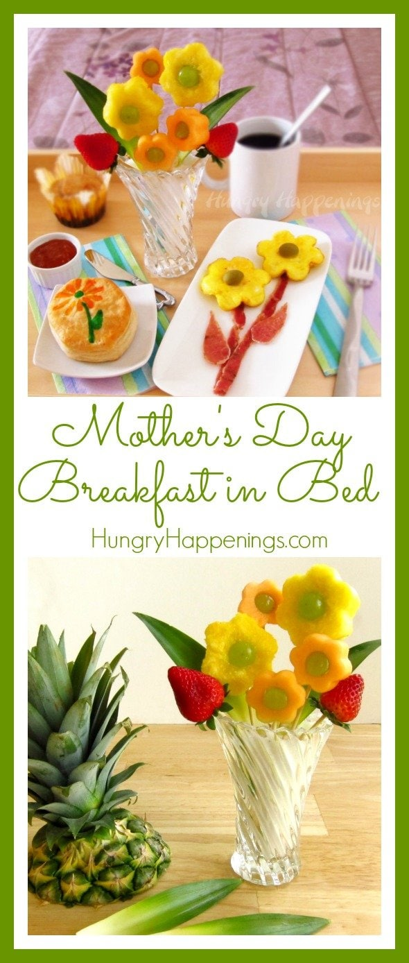 What a better way to treat the women on your family than a Mother's Day Breakfast in Bed! This amazing breakfast will impress your mom or the special someone you're making this for!