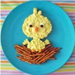 Serve this cute Egg Salad Chick to your kid's this Easter. They will love it!