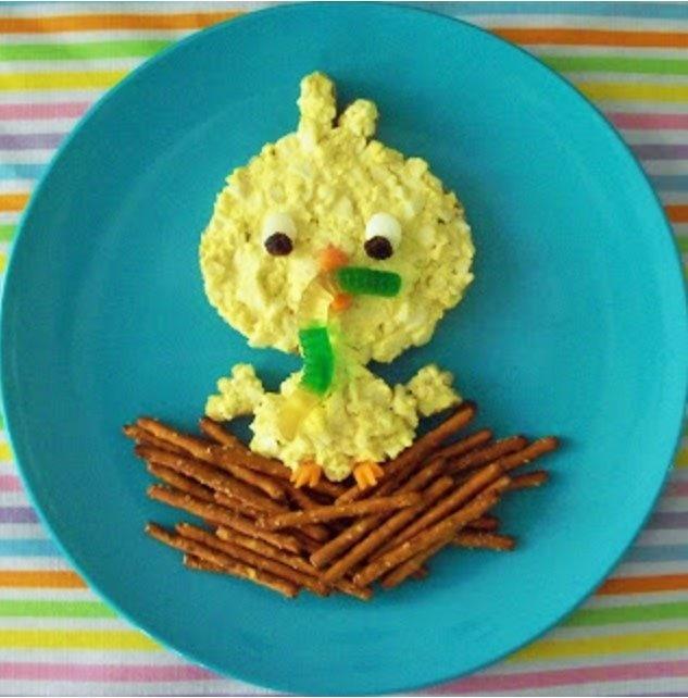 Egg Salad Sandwich Bird