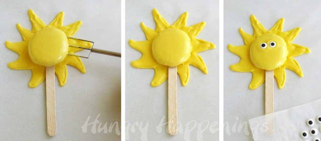 how to make cookie lollipops