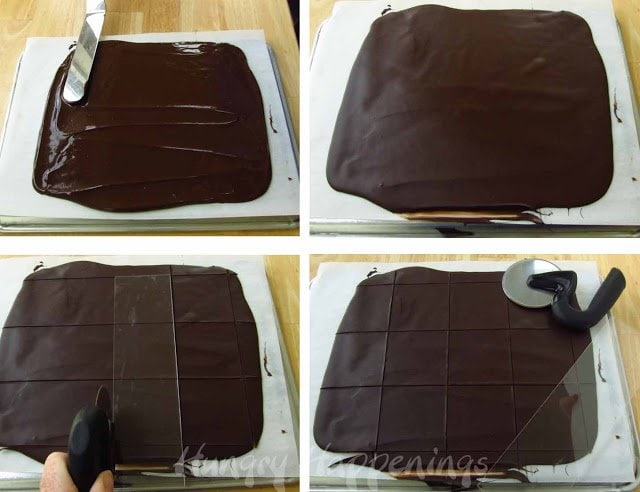 how to make chocolate squares