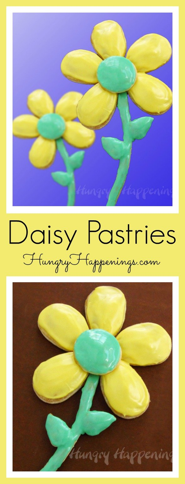 These beautiful Daisy Pastries are the perfect treat for breakfast or for a special occasion! They are easy to make and even better to eat and enjoy!