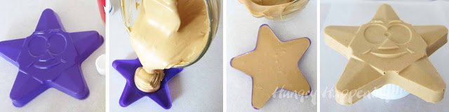 peanut butter fudge stars