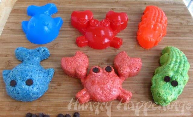 rice krispies treat sea animals