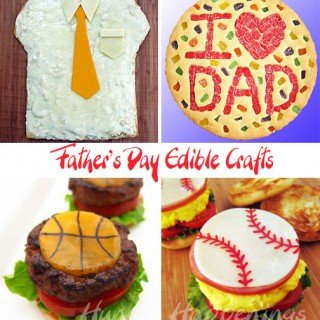 Celebrate Father's Day by making him an edible craft.